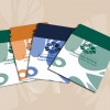 Dual Pocket Eco Wallet 5.5 x 5 inches